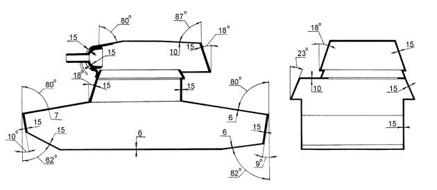 Схема бронирования Т-26 с